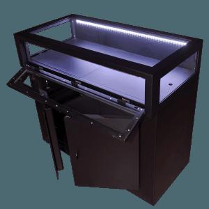 comptoirs sécurisés bijouterie
